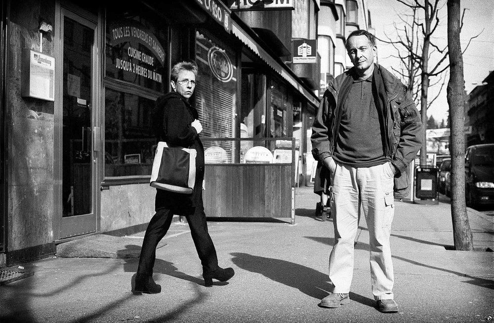 """Daniel Torres, réalisateur cubain, dans le cadre du festival du film de Fribourg. Présente son film: """"Hacerse el sueco"""".Photo Lib , Pierre-Yves Massot. Fribourg, le 16 03 01."""