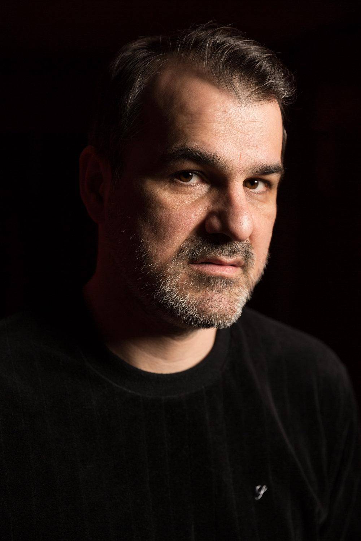 Kornél Mundruczó, acteur, metteur en scène de théâtre et réalisateur. Février 2018.