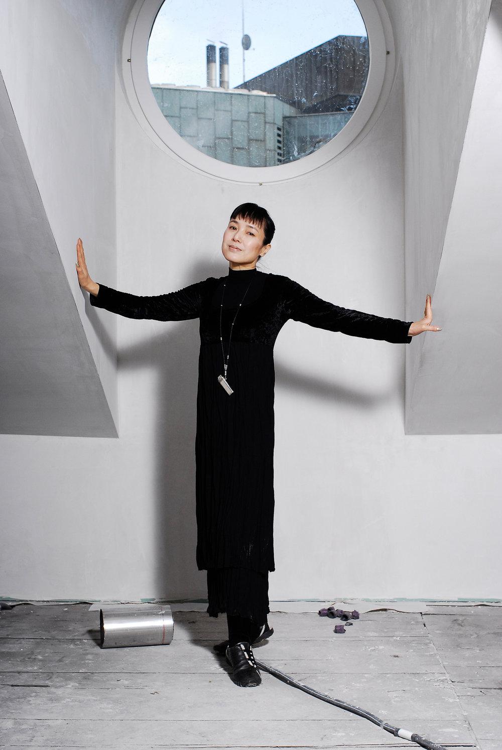 Kaori Momoi, réalisatrice et actrice. Mars 2007.