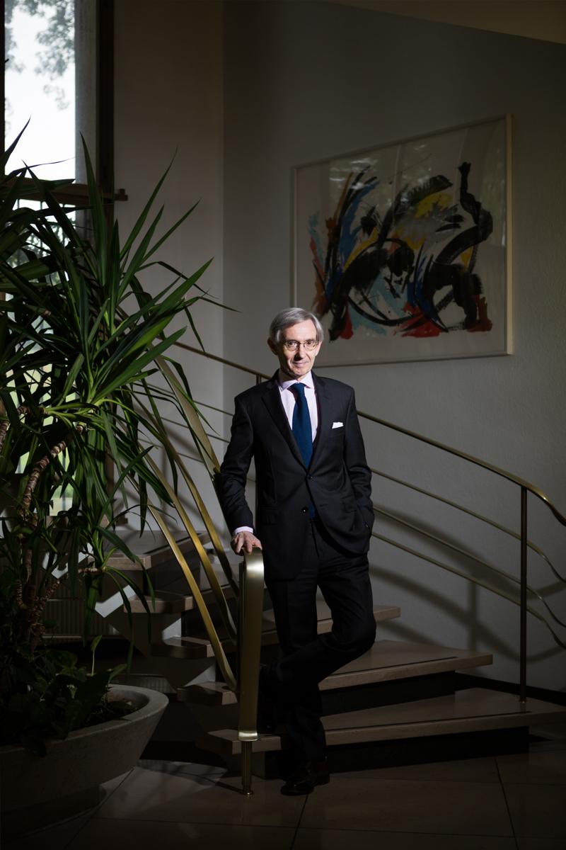 Monsieur l'Ambassadeur de France en Suisse, Michel Duclos. Juillet 2014.