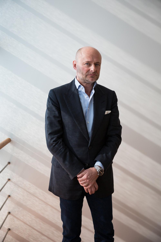 Georges Kern, directeur général de Breitling. Octobre 2017.