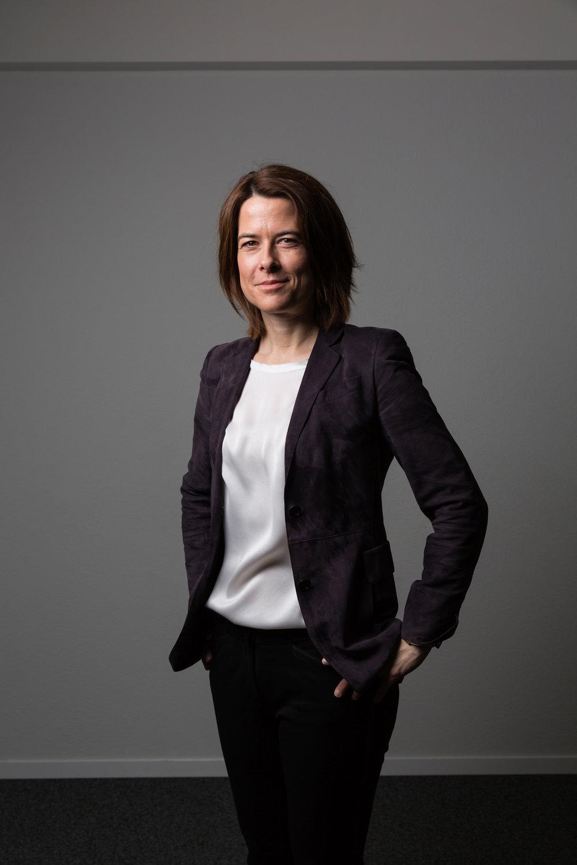 Petra Gössi, présidente du PLR. Février 2017.
