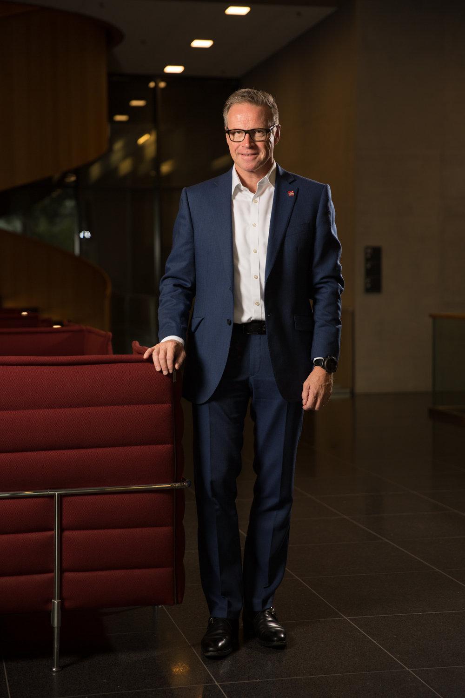 Andreas Meyer, Directeur général exécutif des CFF. Septembre 2017.