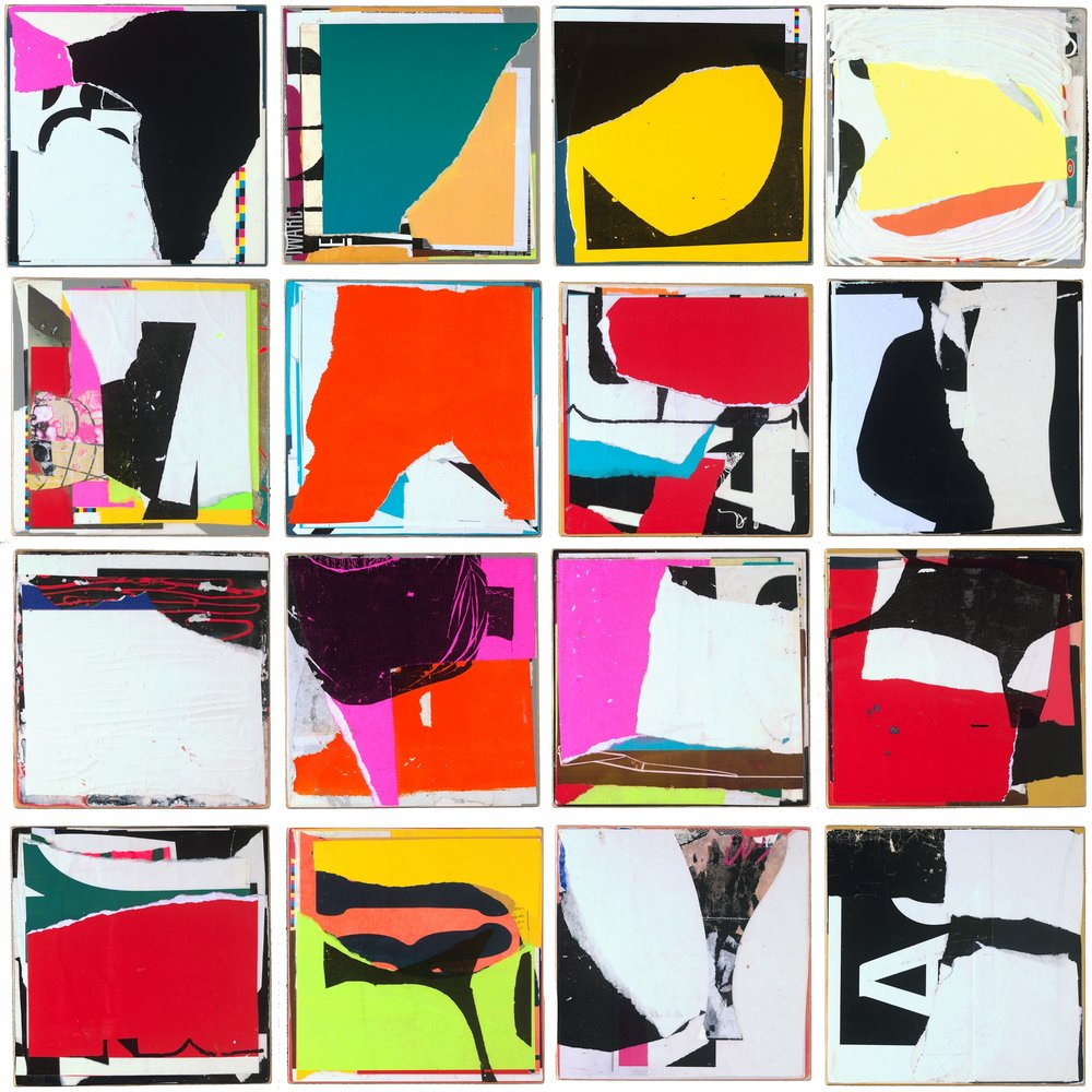 In The Moment, (16) 12x12 panels, mixed on panel, 2015.jpg