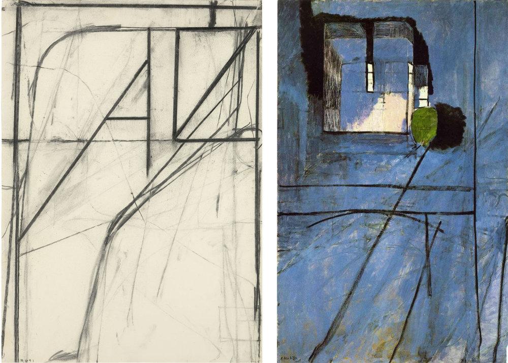 Richard Diebenkorn and Henri Matisse
