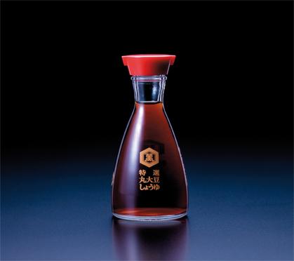 The Kikkoman soy sauce bottle