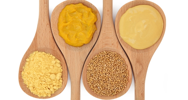 Mustard in different forms