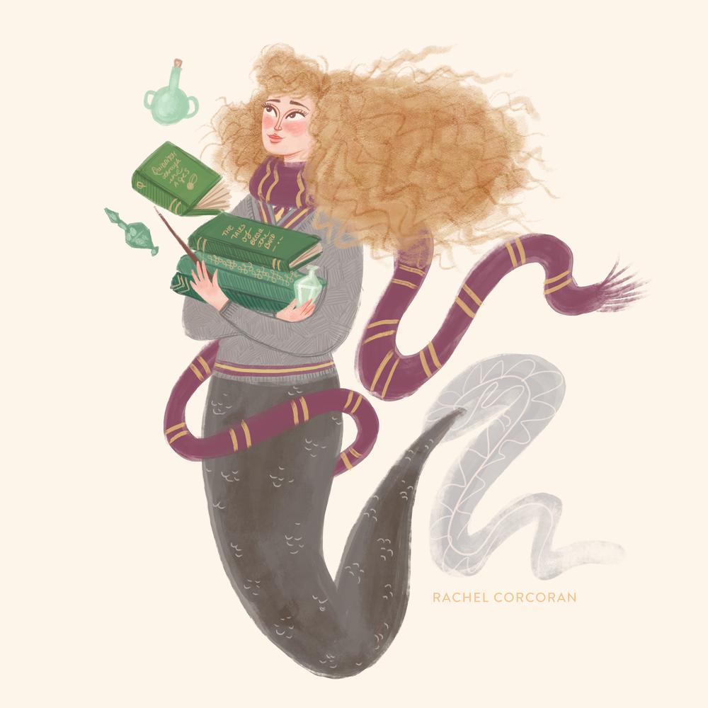 Hermione Granger - Personal work for #MerMay on Instagram