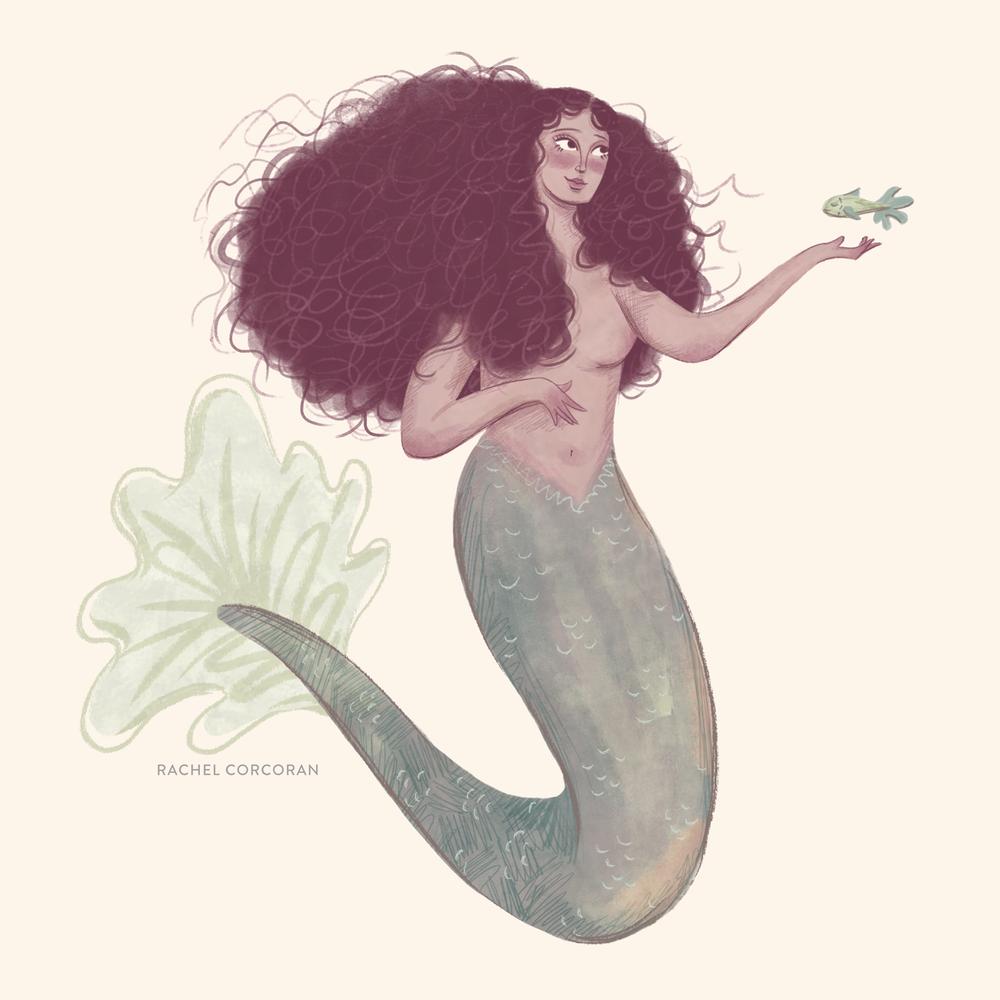 Mermaid - Personal work for #MerMay on Instagram