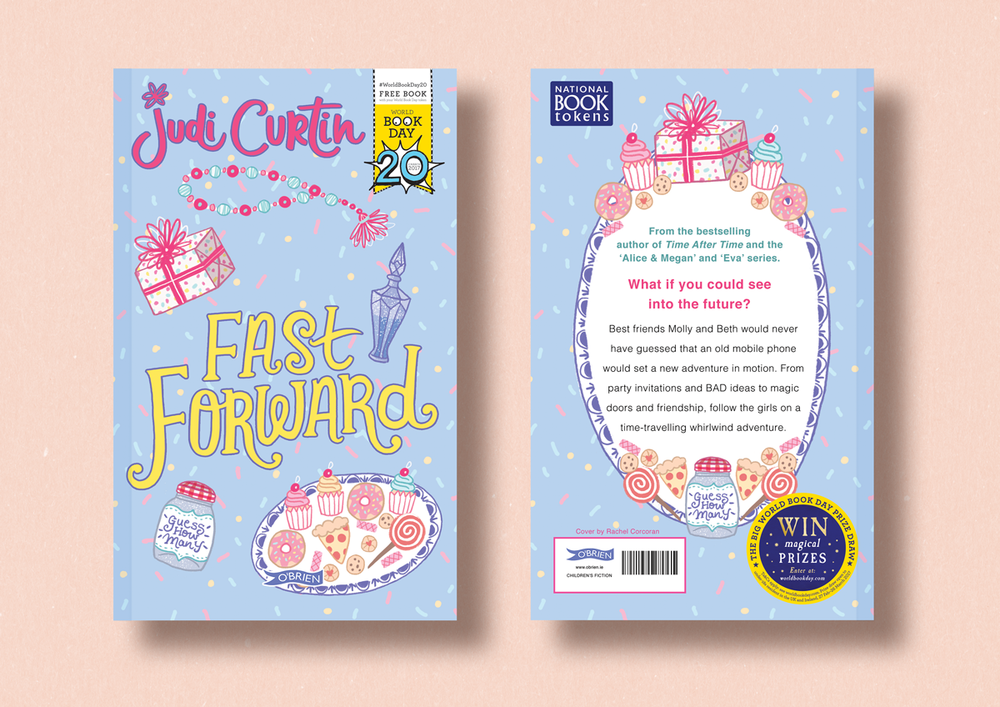 Fast Forward by Judi Curtin. Illustration by Rachel Corcoran. World Book Day