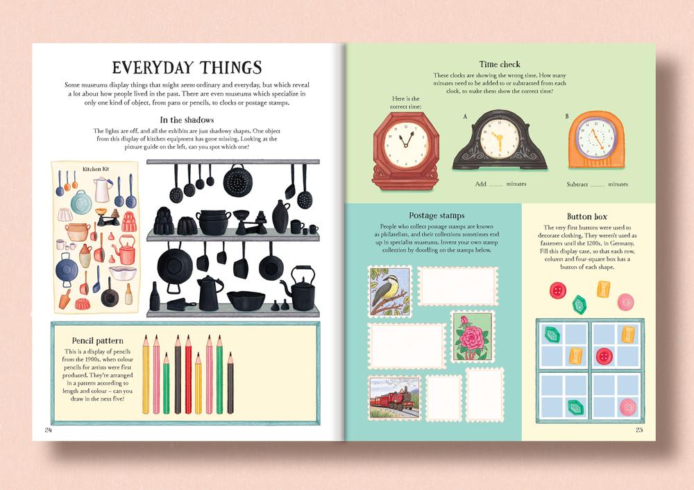 Museum Activity Book - Usborne Publishing