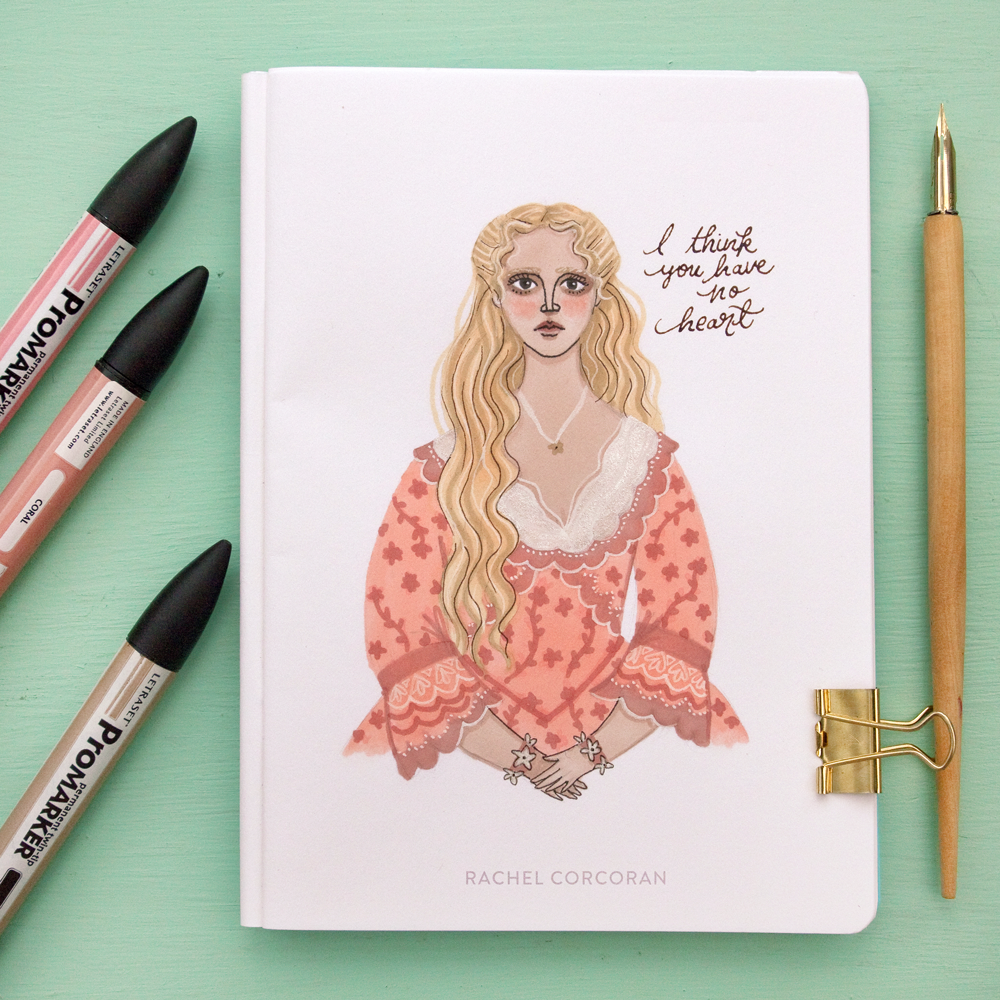 katrina van tassel - Frightening Female series • Inktober 2016