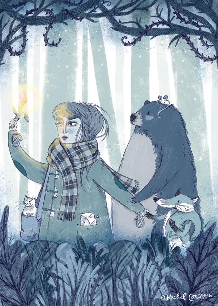 The Journey illustration by Rachel Corcoran