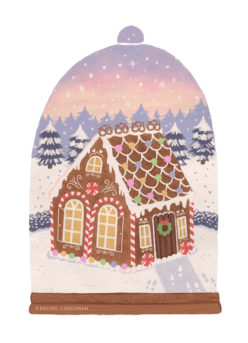Gingerbread Cottage by Rachel Corcoran