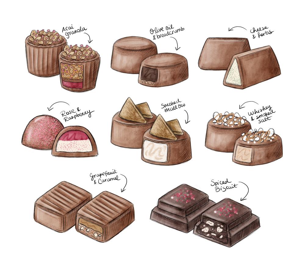 Food illustration by Rachel Corcoran