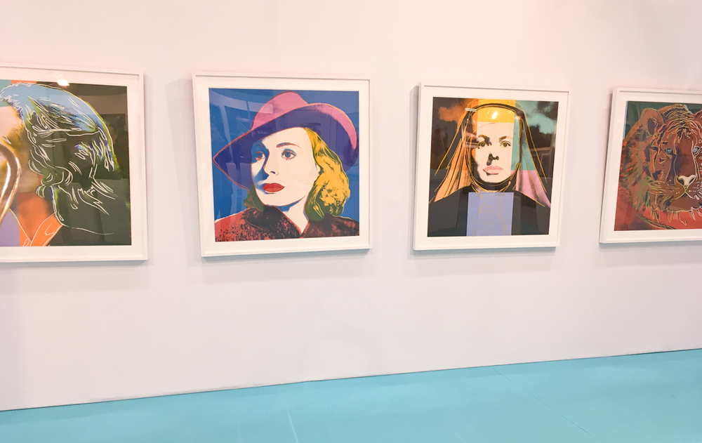 Andy Warhol at Art Source 2018 RDS, Dublin