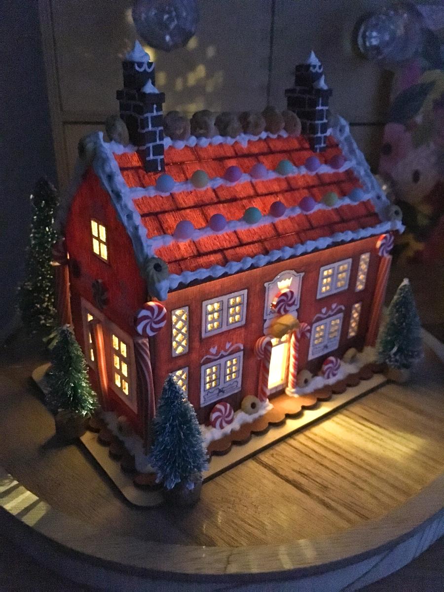 Gingerbread House by Rachel Corcoran