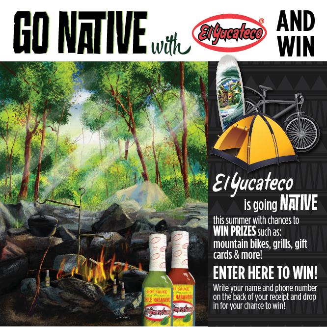 Contest Box Header - Camping