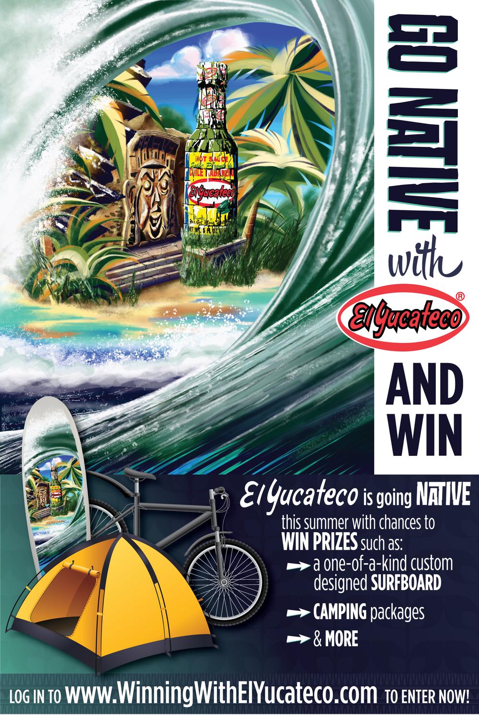 National Poster - Surf