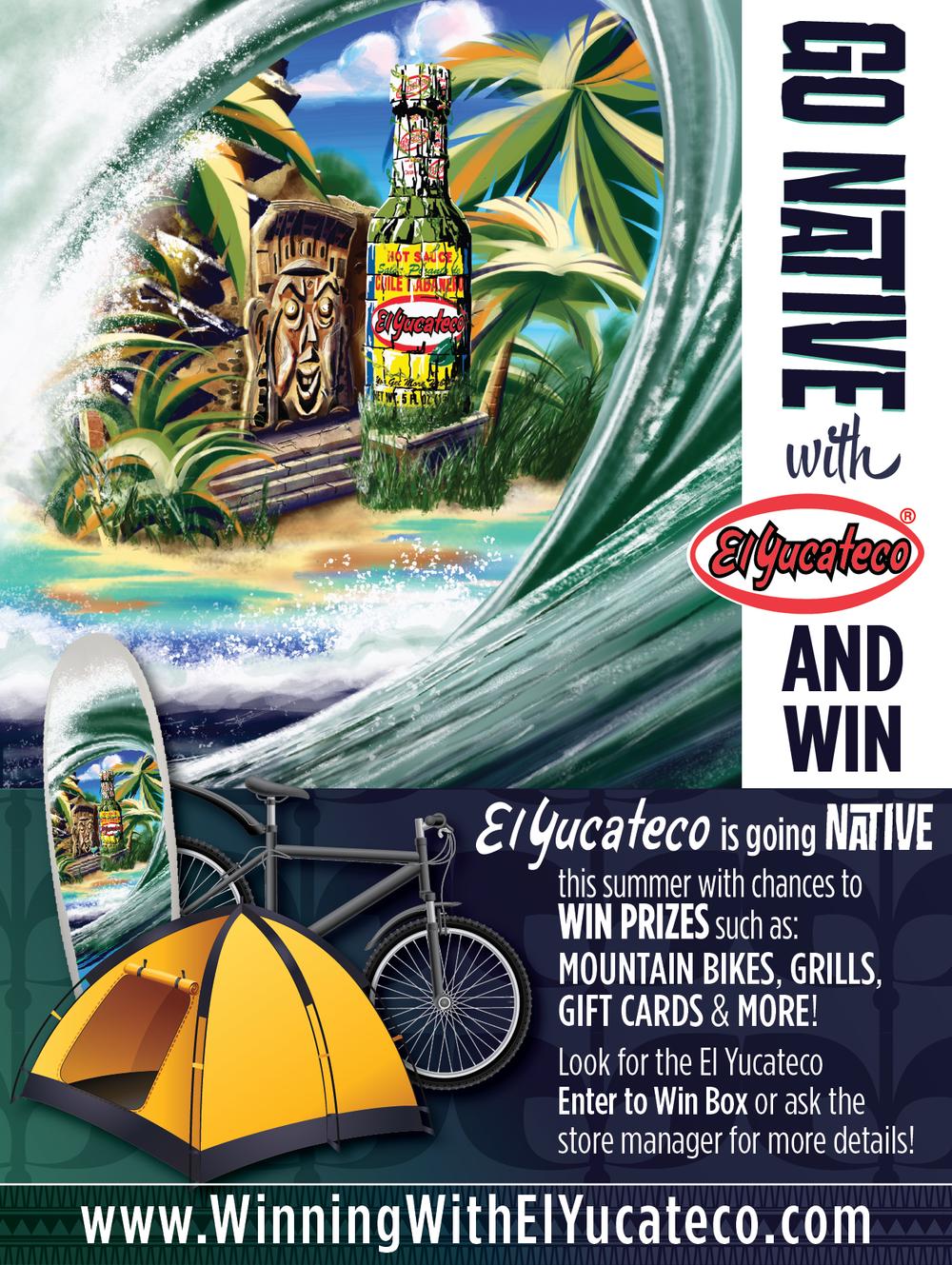 Raffle Poster - Surf