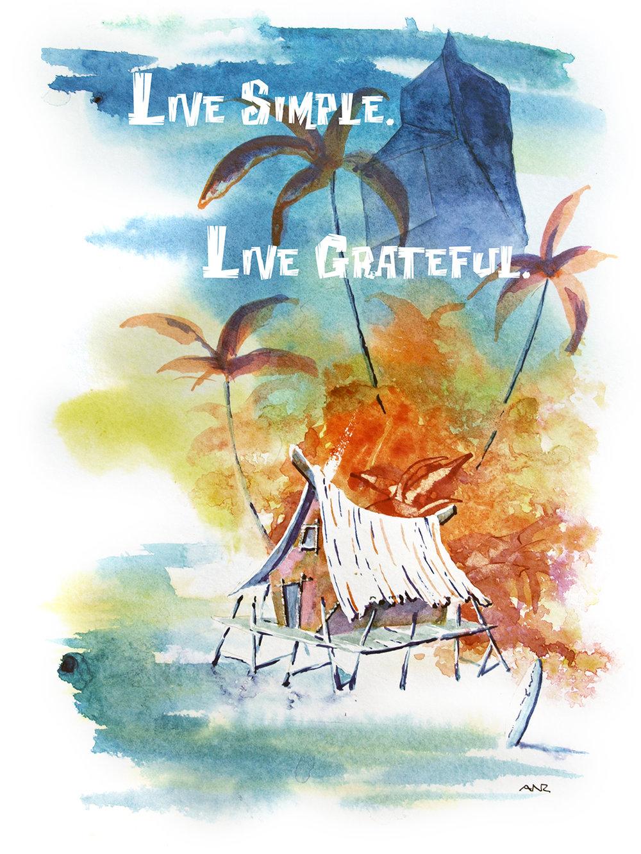 Live Simple, Live Grateful