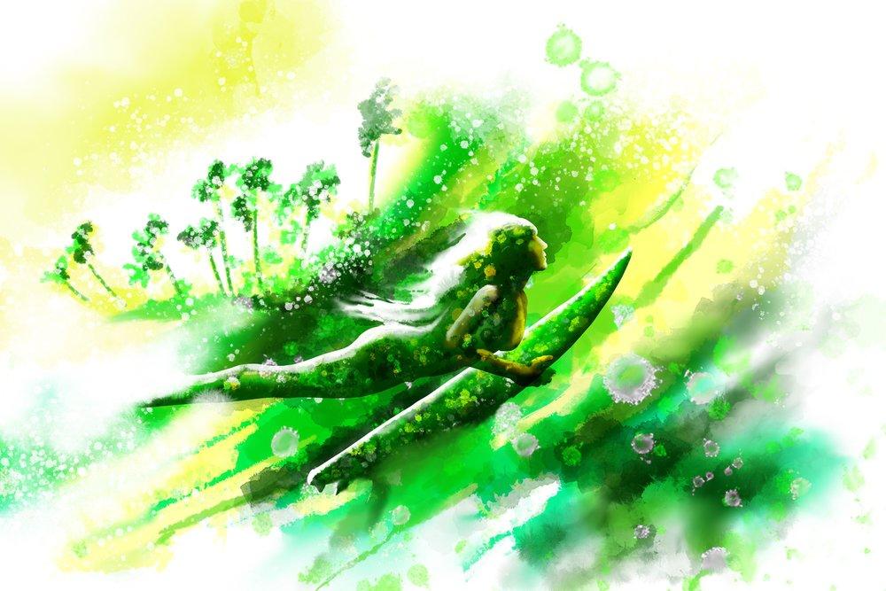 Surfmaid Green