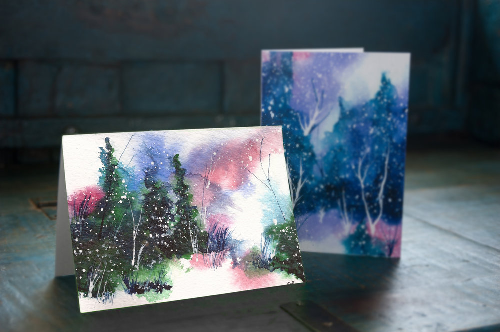 Holiday-Card-Christmas-Winter-Art-Hand-Painted-Watercolor-Art-Snow-Cold-Pine-Trees-HC-25-14_lifestyle.jpg