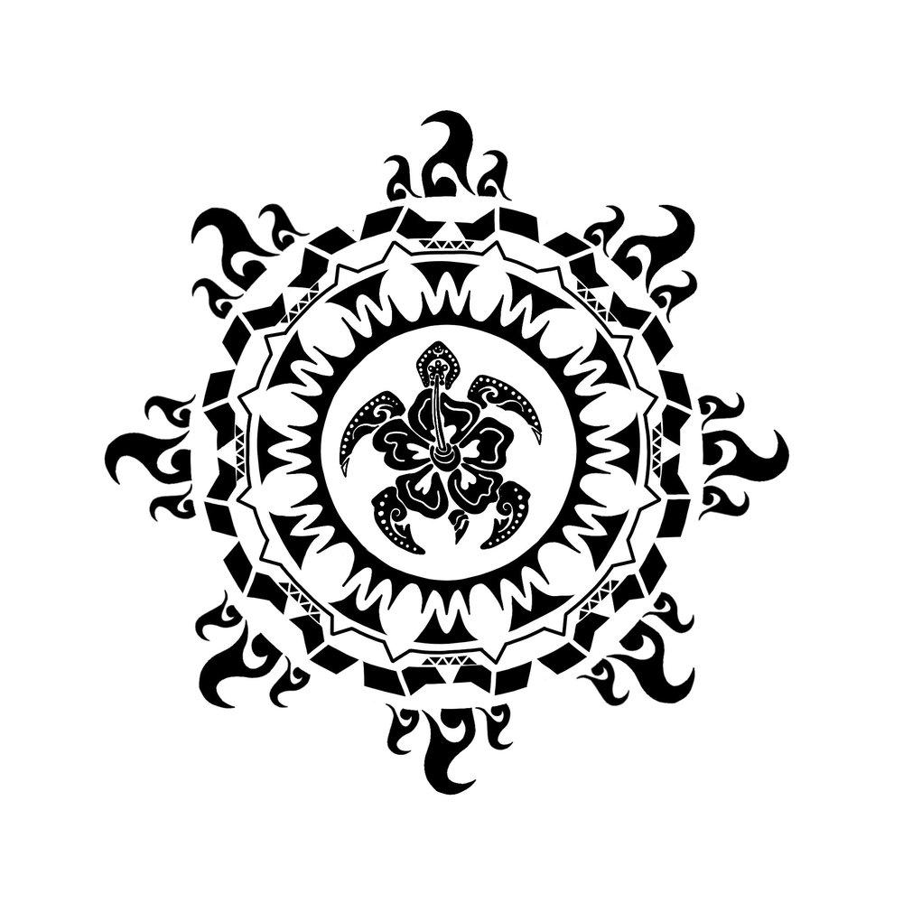 Honu (Turtle) Pattern 1