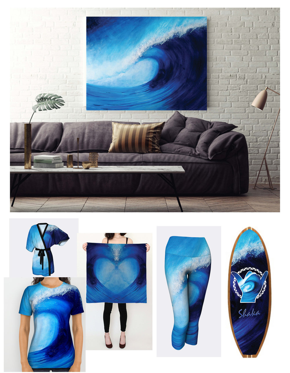 Big Blue Sample Products