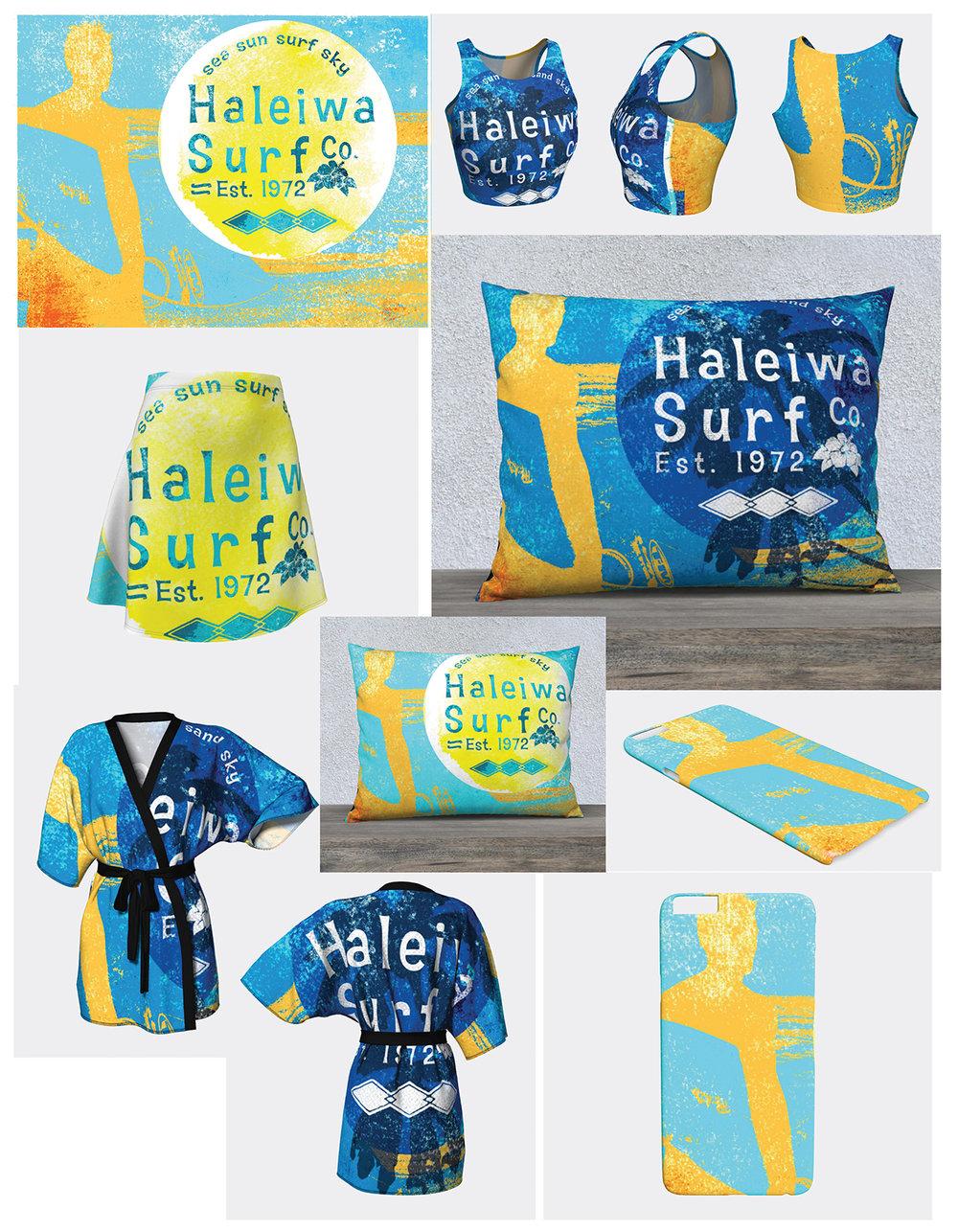 Haliewa Surf Co. Sample Products