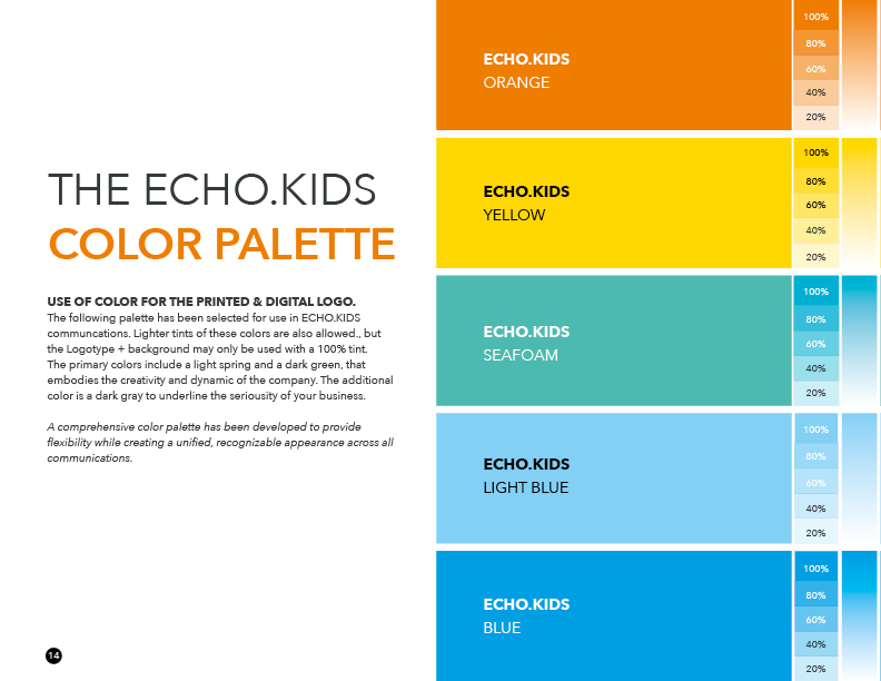 ECHO.CHURCH - Branding Guidelines for the Echo.Kids Ministry