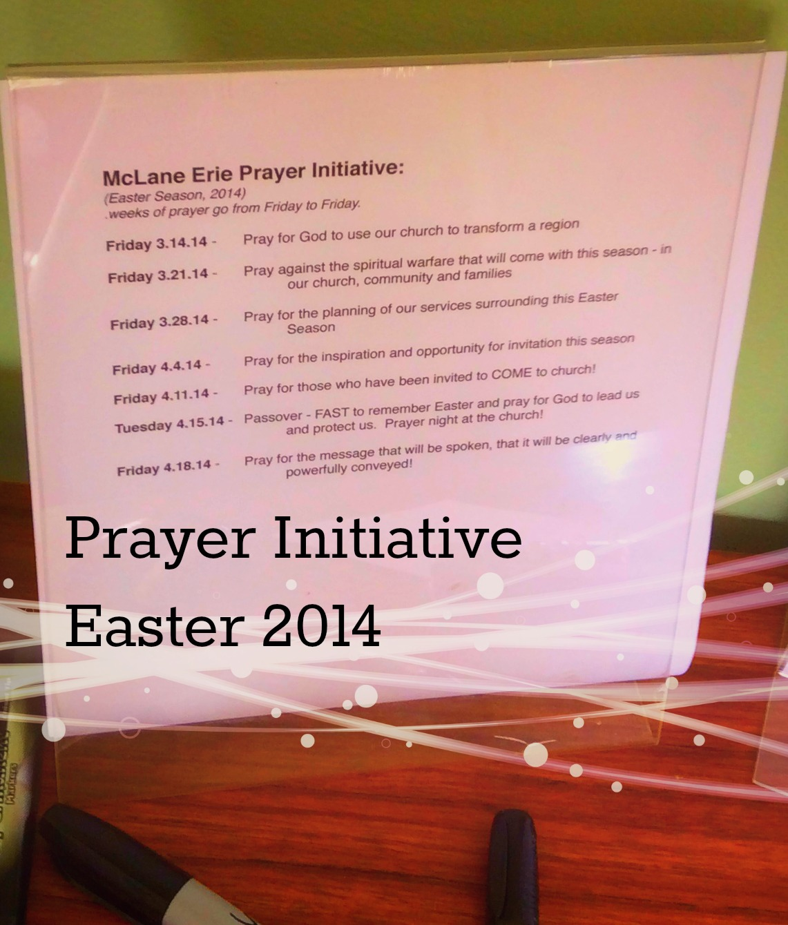 Prayer Initiative