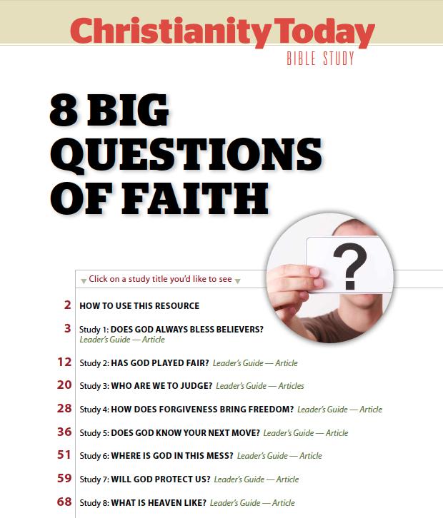 8 Big Questions
