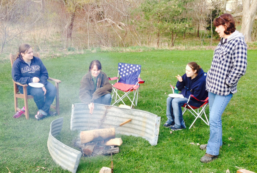 Campfires.  Can't beat 'em!
