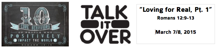 Talk It Over 3-8-15