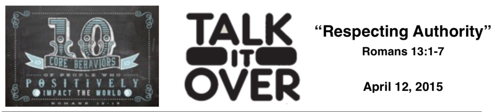 Talk It Over - 4-12-15