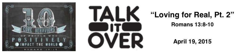 Talk It Over - 4/19/15