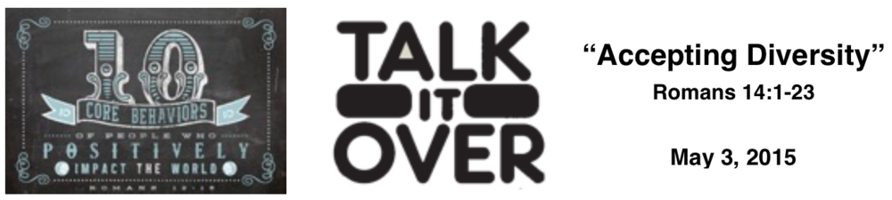 Talk it Over - 5/3/15