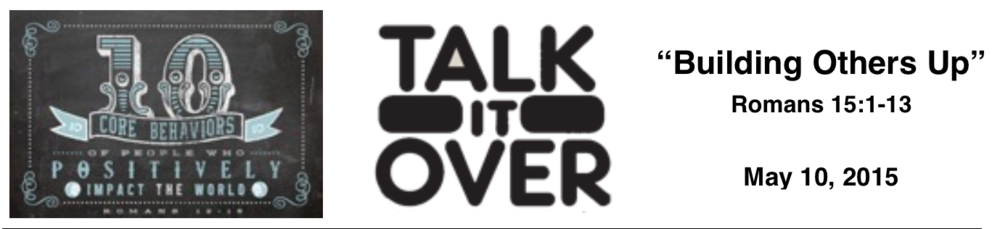 Talk It Over - 5/10/15