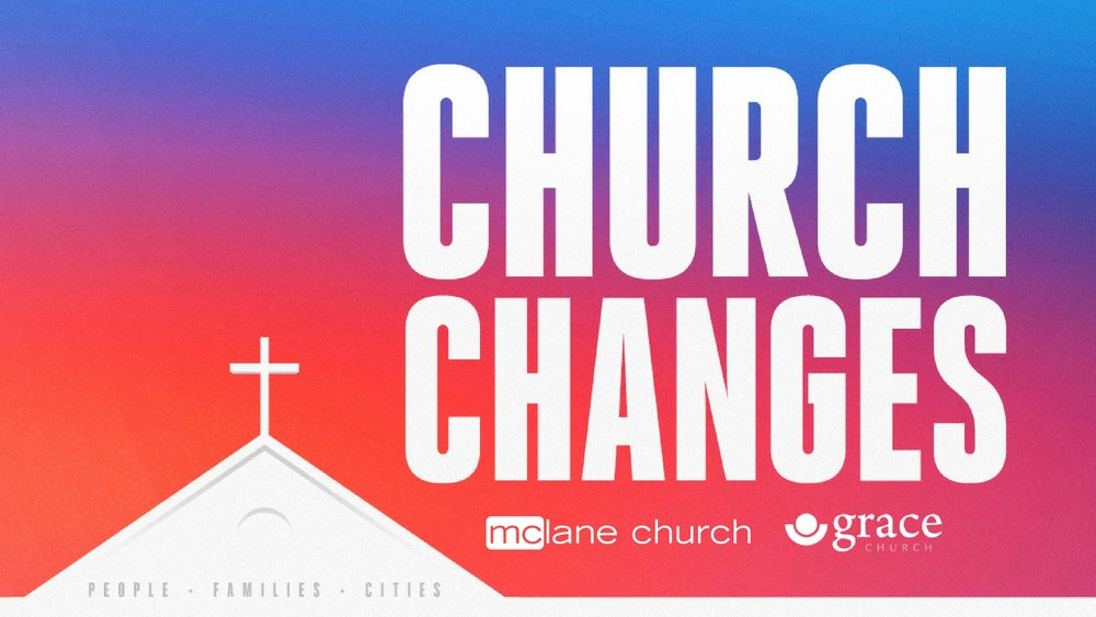 September 2017 Series: Church Changes