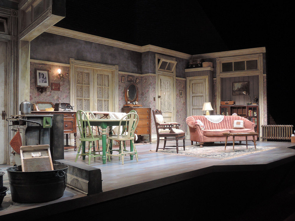 A Raisin in the Sun - Scenic Design - Living Room