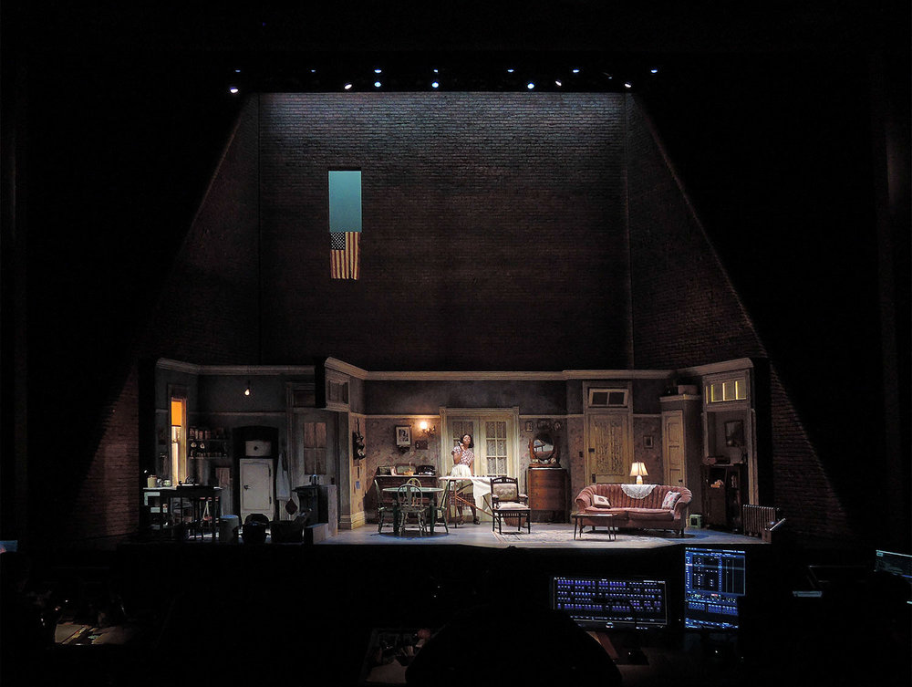 A Raisin in the Sun - Scenic Design - Tech