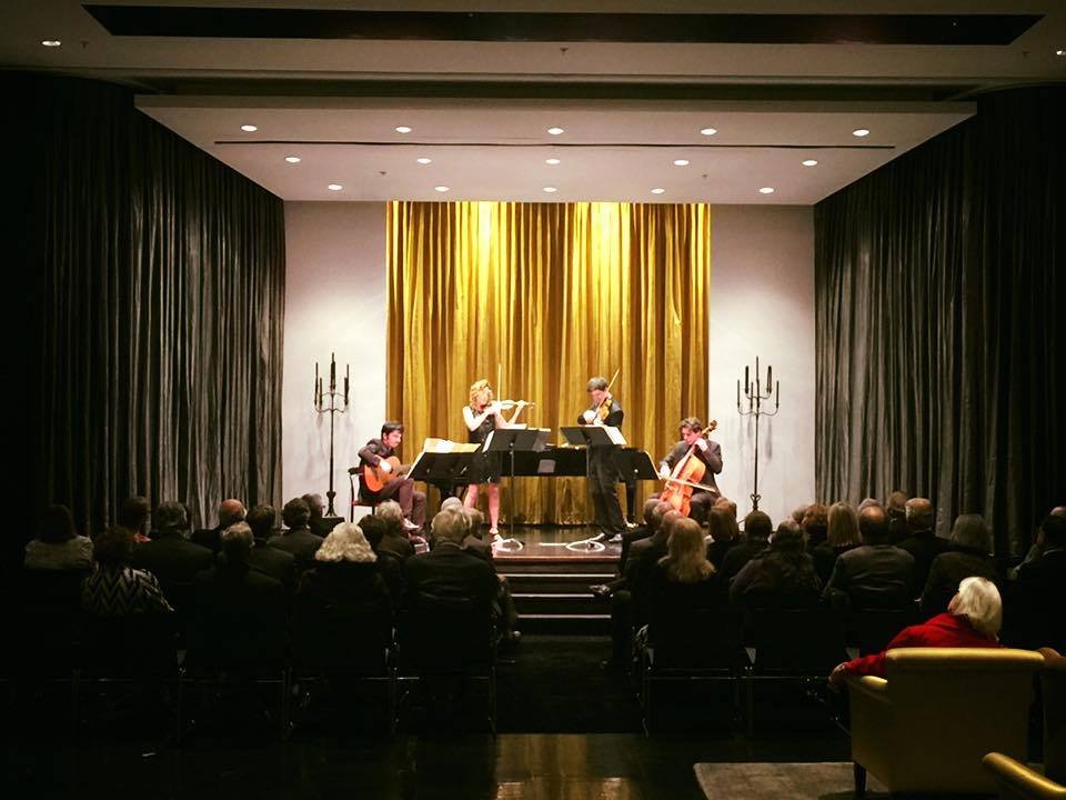 Concert at the Arts Club of Chicago