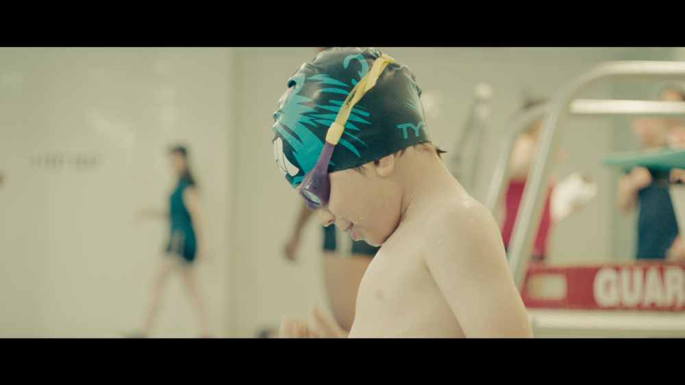 - Imagine Swimming (Commercial)Director: Bennett JohnsonProduction: Reframe The WorldProducer: Michael PeayDP: Andy Catarisanoeditor: matt carterColorist: Jenny Montgomery @ Company 3sound mix: sam costello