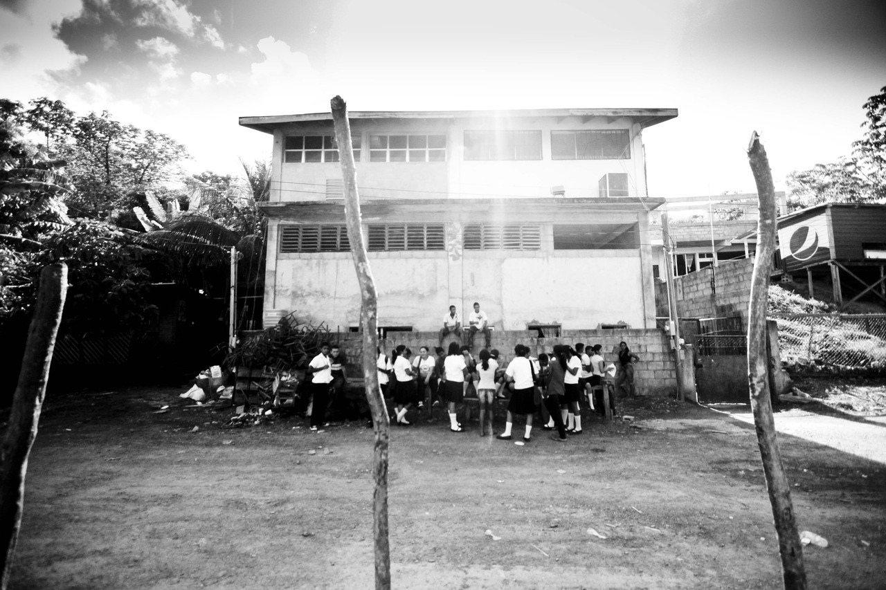 School in Roatan Honduras