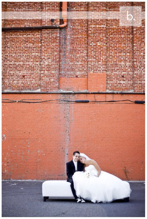 Preview of Tiffanie and Josh fun and funky downtown Modesto Wedding! More coming soon!