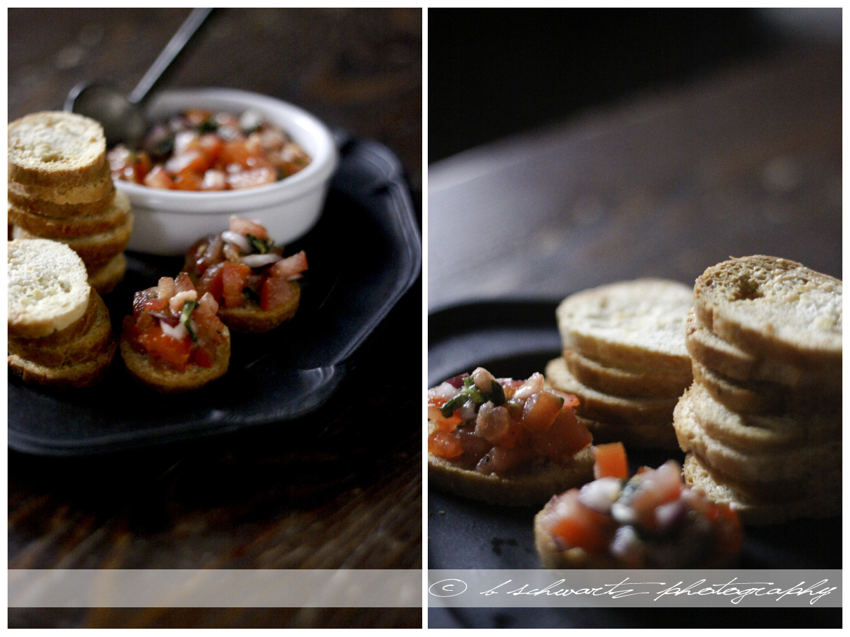 One of my favorite appetizers    Bruschetta   ©bschwartzphotography