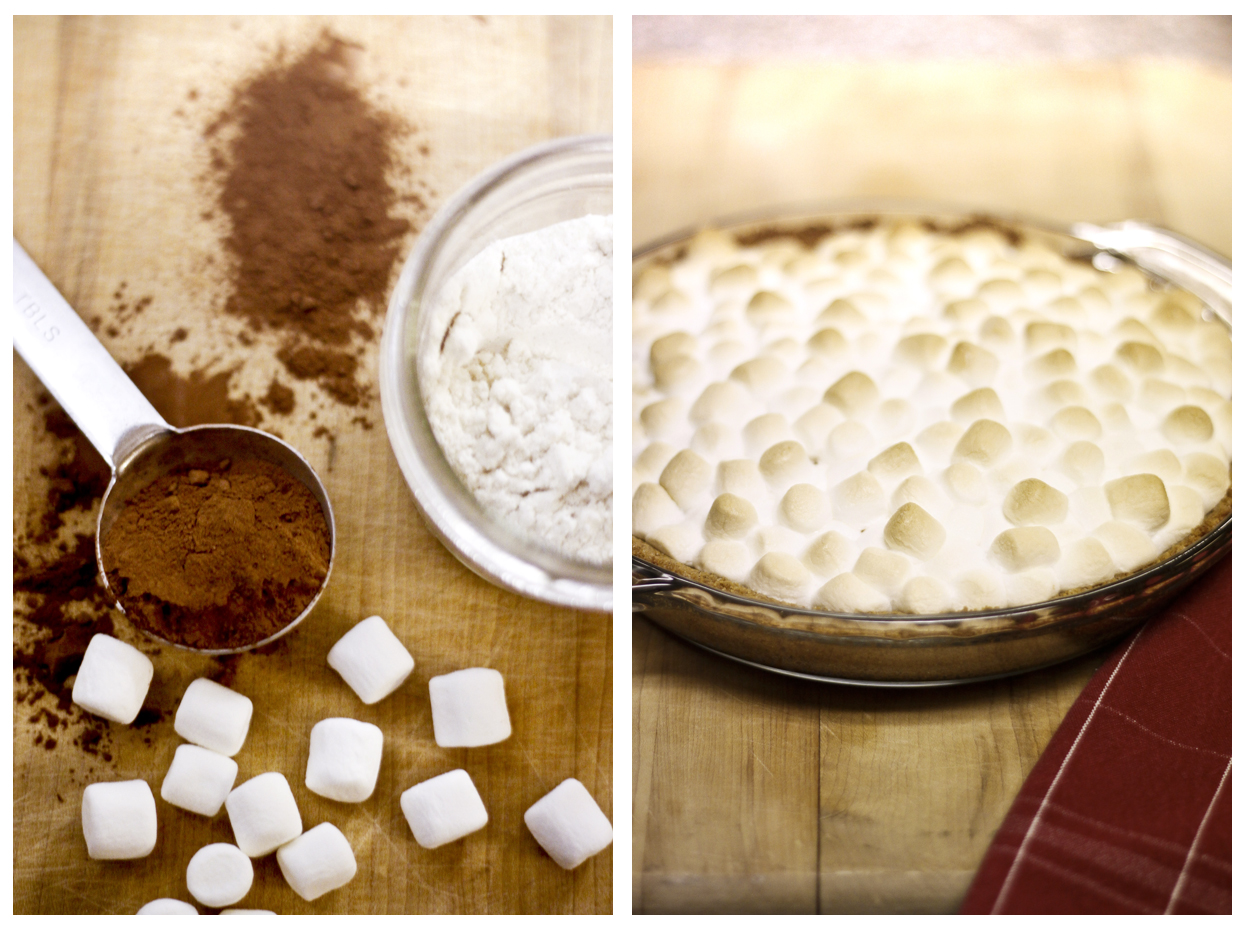 The first day of my new resolution … food photography!!   Browny s'mores     Im inspired and excited to shoot more! :)
