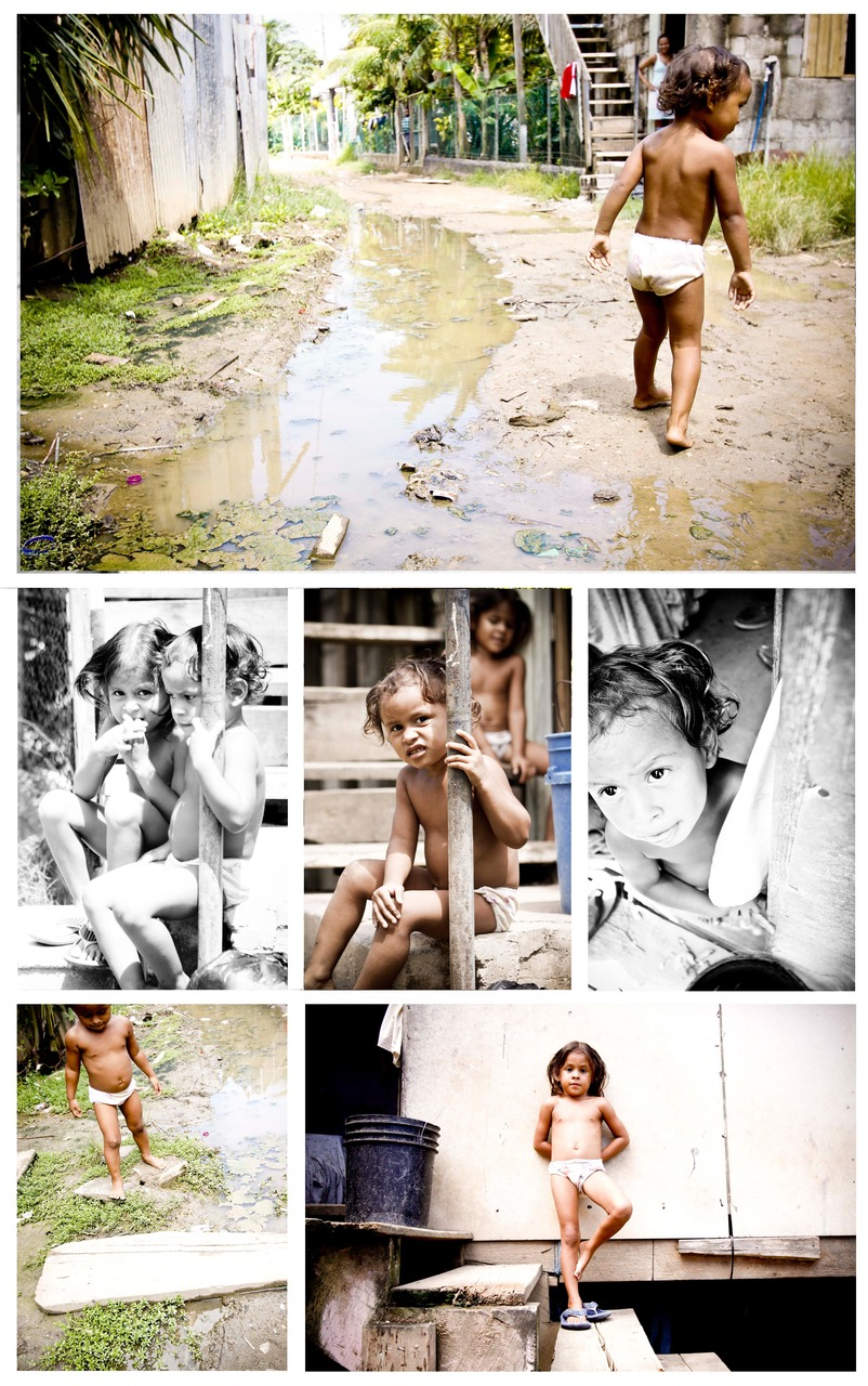 More Pictures from our time in Calle Ocho. These two little girls followed us around the whole time, they were so sweet! My heart broke for them as they walked around with no clothes on and in their bare feet through sewage filled streets.  They always had smiles on, playing and running around like little kids do!!