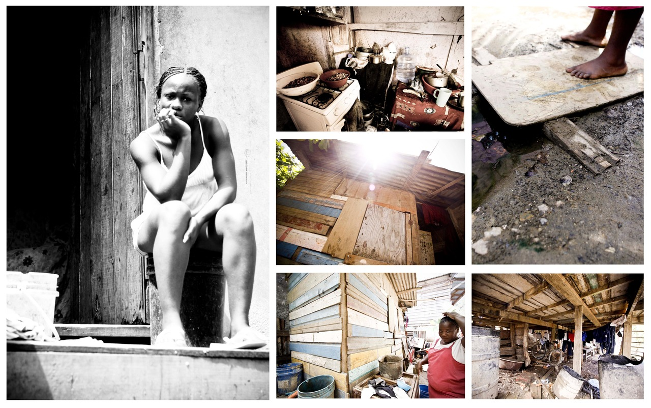 Calle Ocho, has some of the worst living situations on the island. The neighborhood is built on a swamp, they have little running water and no black water systems.      Calle Ocho has major drug use, you can see the brokeness, heres a few of the pictures from while we were there.     This home was built from the money she made selling roasted cashews.